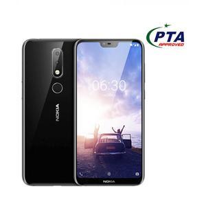 "Nokia 6.1 Plus - 4GB - 64GB - 4G - 5.8"" - Dual Camera - Black"