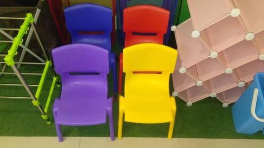 Custom Comfortable Kids Chair Plastic Kids Bucket Chair
