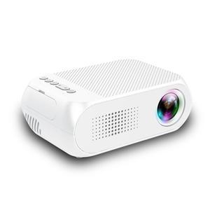 Estima Mini Projector Home Theater Cinema TV Portable LED Projector 1080P HDMI/USB/SD/AV Projector White