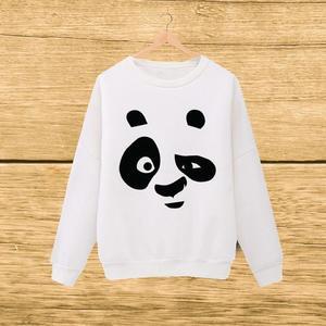 White Panda Print Sweat SHirt For Her