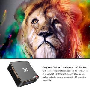 Loveliness A95XMAX Smart TV Box S905X2 4GB+64GB 4K HD Android 8.1 Media Player