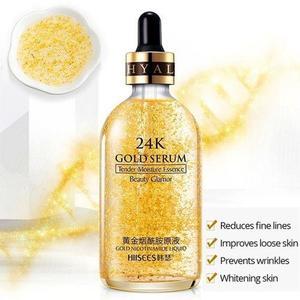 24K Gold Serum - beauty charms 24k gold facial kit - Gold Serum - 24k Goldzan - Ampoule Maison De Nature - Anti-Wrinkle serum