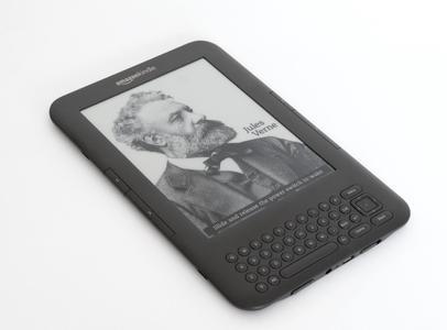 "Kindle Keyboard E Book Reader 3G+ Wi-Fi, 6"" E Ink Display"