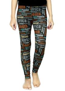 Virgen Mango Multicolors Cotton Printed Tights for Girls