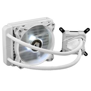 Vodool ID-COOLING ICEKIMO 120W Pure White Water Cooler CPU Radiator Cooling Fan