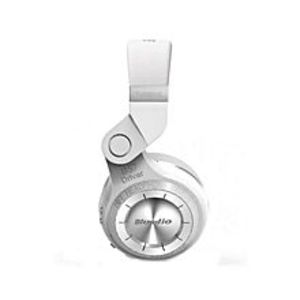 BLUEDIOT2 Plus - Turbine Wireless Bluetooth Headphone with Mic - White