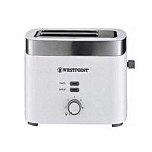 WestpointWF-2583 - 2 Slice Pop-Up Toaster - White & Grey