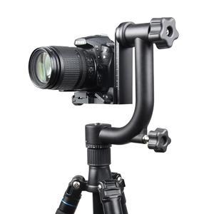 YELANGU Horizontal 360 Degree Gimbal Tripod Head for Home DV and SLR Cameras(Black)