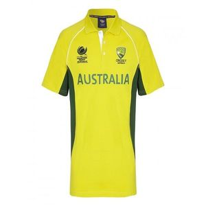 Australia Cricket Team Shirt - Yellow