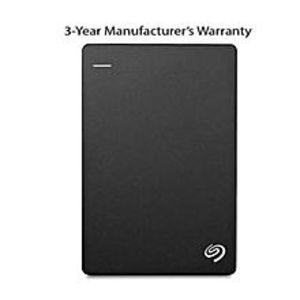 SeagateSTDR2000300 - Backup Plus Slim 2TB Portable External Hard Drive - USB 3.0 - Black