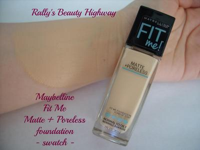 Maybelline Fit Me Matte & Poreless Liquid Foundation 115 Lvory , 30ML