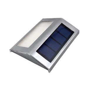 2 LED Solar Powered Wall Lamp Outdoor Garden Waterproof IP55 Light