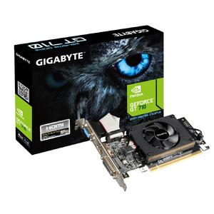 GIGABYTE GeForce GT 710 2GB 64-Bit DDR3 PCI Express 2.0 Low Profile Graphic Card (GV-N710D3-2GL )