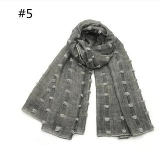 2019 Solid Candy Colors shawls Muslim hijab woman scarves pashmina bandana scarf