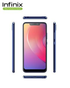 Infinix Hot S3X-Aqua Blue - 6.2'' FHD Display - 3GB RAM - 32GB ROM - Fingerprint Sensor & Face Unlock