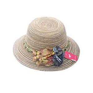 Get StyleMs. Sen Department of sweet flowers sun rose hat 44376-Brown