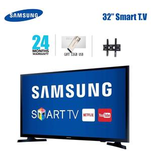 SAMSUNG UHD LED FLAT SMART TV 32 INCH - MU5300 - WITH FREE WALL MOUNT AND 32 GB USB - AND 2 YEARS ALL PAKSITAN WARRANTY