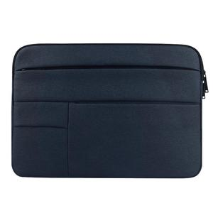 Universal Multiple Pockets Wearable Oxford Cloth Soft Portable Leisurely Laptop Tablet Bag, For 15.6 inch and Below Macbook, Samsung, Lenovo, Sony, DELL Alienware, CHUWI, ASUS, HP (navy)