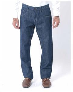blue denim jeans with sky blue thread
