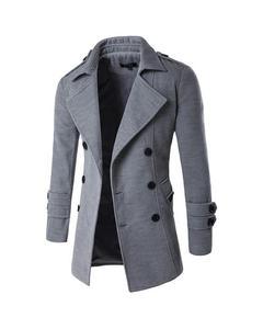 Grey Winter Coat For Women