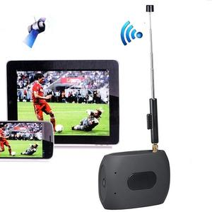 Wirelss WiFi Mobile DVB-T ISDB-T TV Tuner Stick Receiver for iPad / iPhone / Android Phones / Tablet, Support Most of European Countries (Not Support in Italy and France)