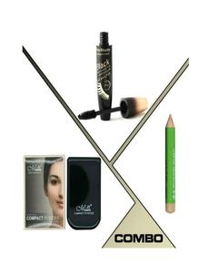 Pack Of 3 - Concealer, Mascara & Compact Powder