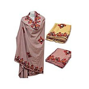 Malik Deal Pack Of 2 - Sindhi Embroidered Chadar/Shawl For Women