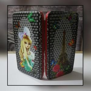 Women Wallets Soft Leather Ladies Book Wallet Pouch Handbag Clutch Purse for Women