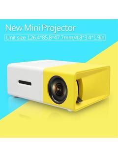 Mini Portable 1080p 3D LED Projector support AV HDMI SD Hardisk YG-300