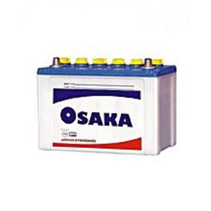 Osaka Batteries S75+ 10 Plates - Acid Battery - White