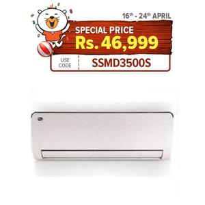 PEL Inverter Split AC 1.0 Ton APEX Series - 12K - White