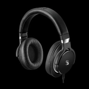 BLOODY GAMING HEADPHONES (ULTIMATE SURROUND SOUND) DYNAMIC HIFI HEADPHONE M550 (BLACK+GREY)