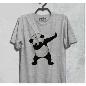 Panda Cotton T-Shirt For Her