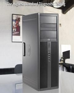 Elite 8200 MicroTower - Intel Core i3 -2120 2nd Gen 3.1GHz, 2GB DDR3, 250GB Hard Drive, Windows 10 Pro 64-Bit, DVD, Display Port