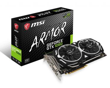 MSI Geforce GTX 1060 ARMOR 6GB