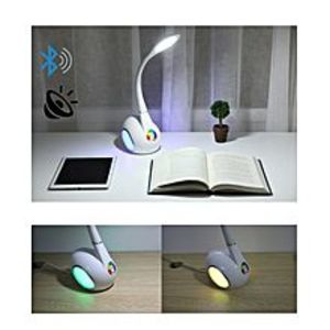 ZappleLED Table Lamp With Multi-Grade Dimming and Built-in Bluetooth Stereo Speakers