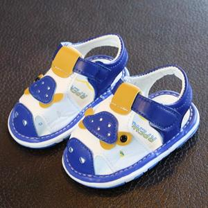 Perfect Meet Princess shoes Infant Kids Baby Boys Girls Cartoon Anti-slip Shoes Soft Sole Casual Sandals