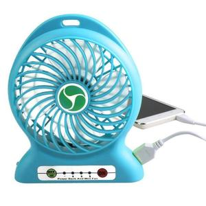 USB Rechargeable Portable Fan With Power Bank