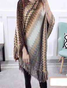 Multicolor Wool Shawl for Women