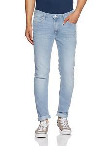 Ice Blue Slim Fit Jeans For Men