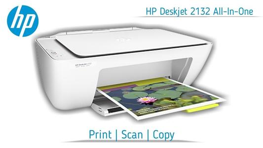 HP 2132 Printer- DeskJet - All-in-One Printer - White