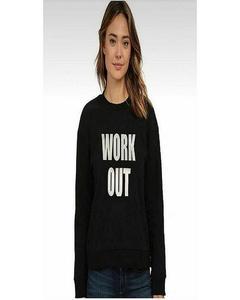 Black Fleece Sweatshirt For Women