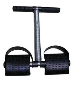 Tummy Trimmer Single Spring - Black