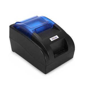 Cash Receipt Printer Bluetooth Thermal POS - US Plug - Black