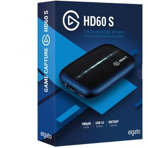 Elgato Game Capture Card HD60 S - Stream and Record in 1080p60, for PS4,PS4 Pro, Xbox One,One S & PC