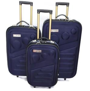 GOOD LOOKING 3 PCS TROLY SUITCASE SET BEST FOR WEDDING SUITS