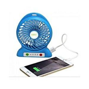 AS MallRechargeable Mini Portable Fan with Power Bank