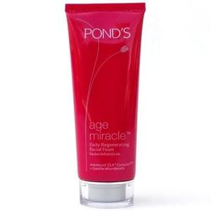 PONDS AGE MIRACLE DAILY REGENERATING FACIAL FOAM 100g