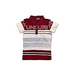 Tiny TodsRed Cotton Jersey Polo Shirt