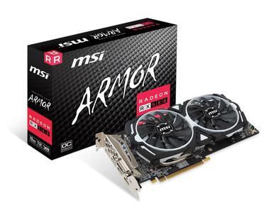 RADEON RX 580 8GB MSI ARMOR OC+